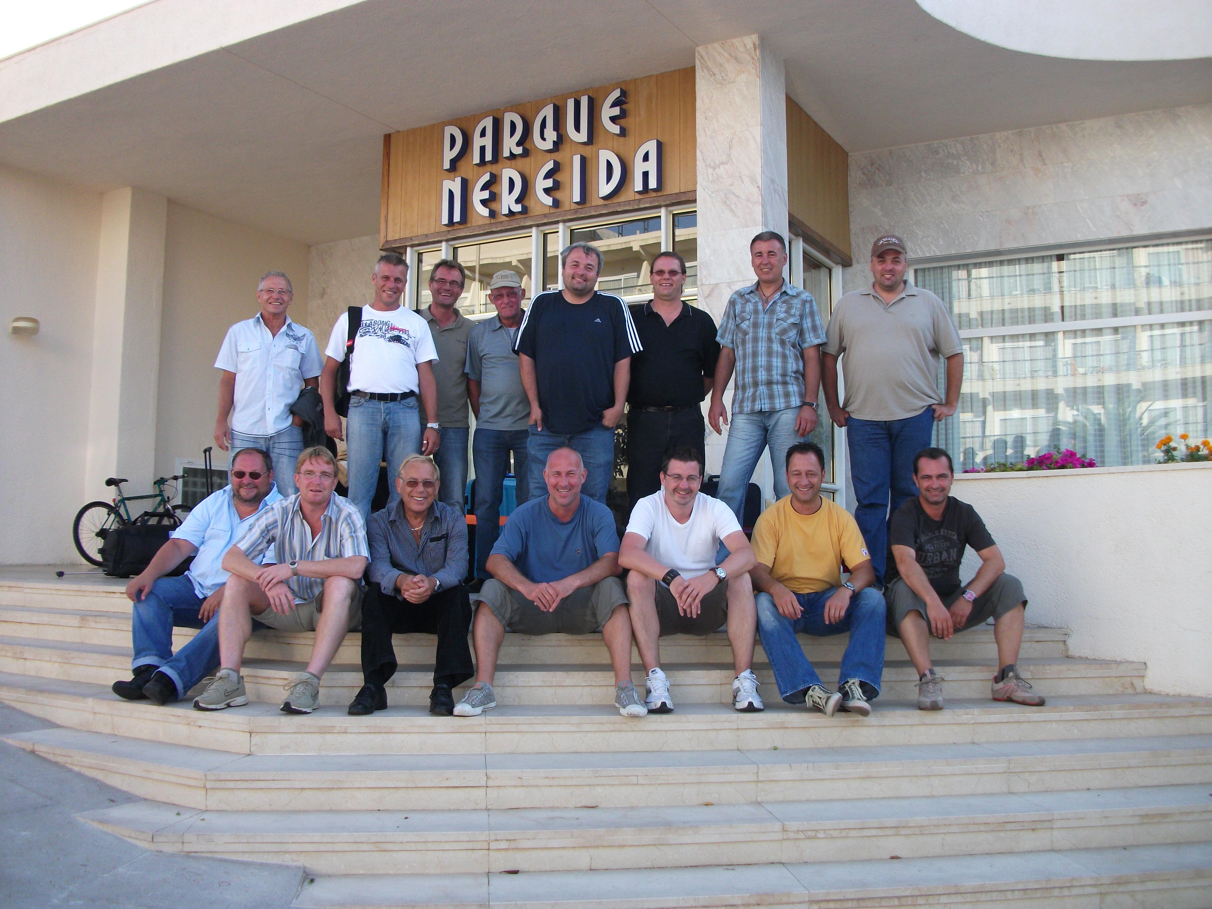Trainingslager in Cala Ratjada 2010
