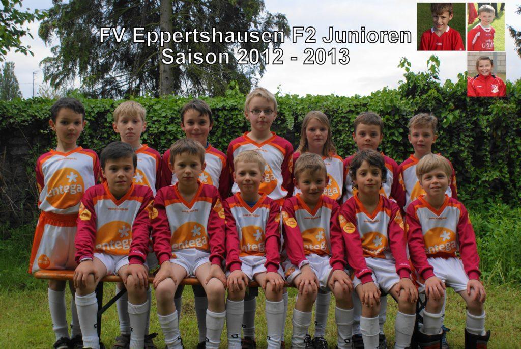 F2-Jugend - Saison 2012/2013