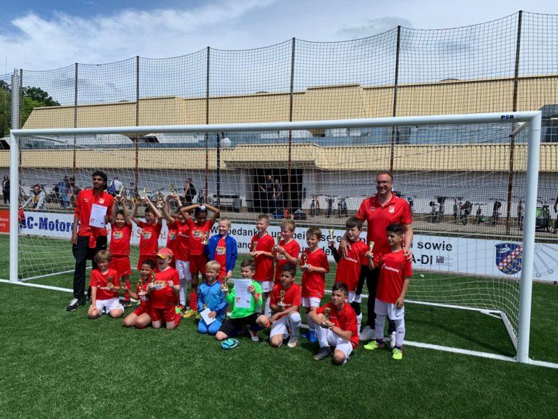 Gesamte F-Jugendmannschaft