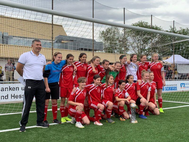 D-Jugendsieger U14 Auswahl Mädchen